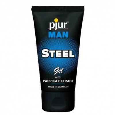 Pjur Man Steel Gel Paprika Lubricant 50ml
