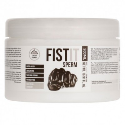 Fist it Sperm 500ml Lubricant
