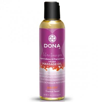 DONA Sassy Tropical Tease Massage Oil