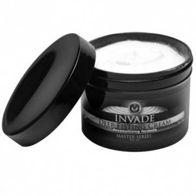 Invade Deep Fisting Cream 8 oz Lubricant