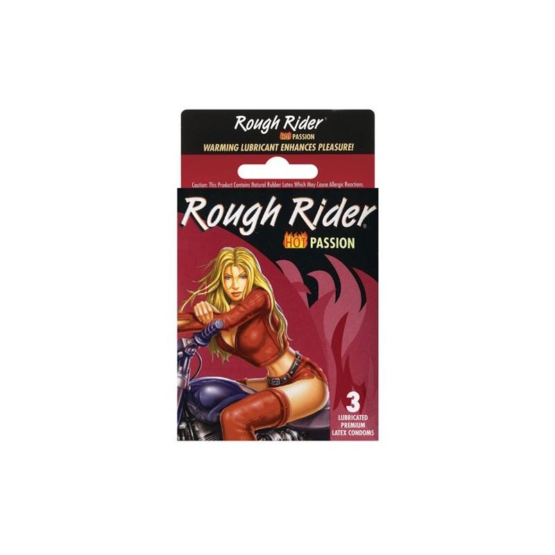 Rough Rider Hot Passion 3 Pack Condoms