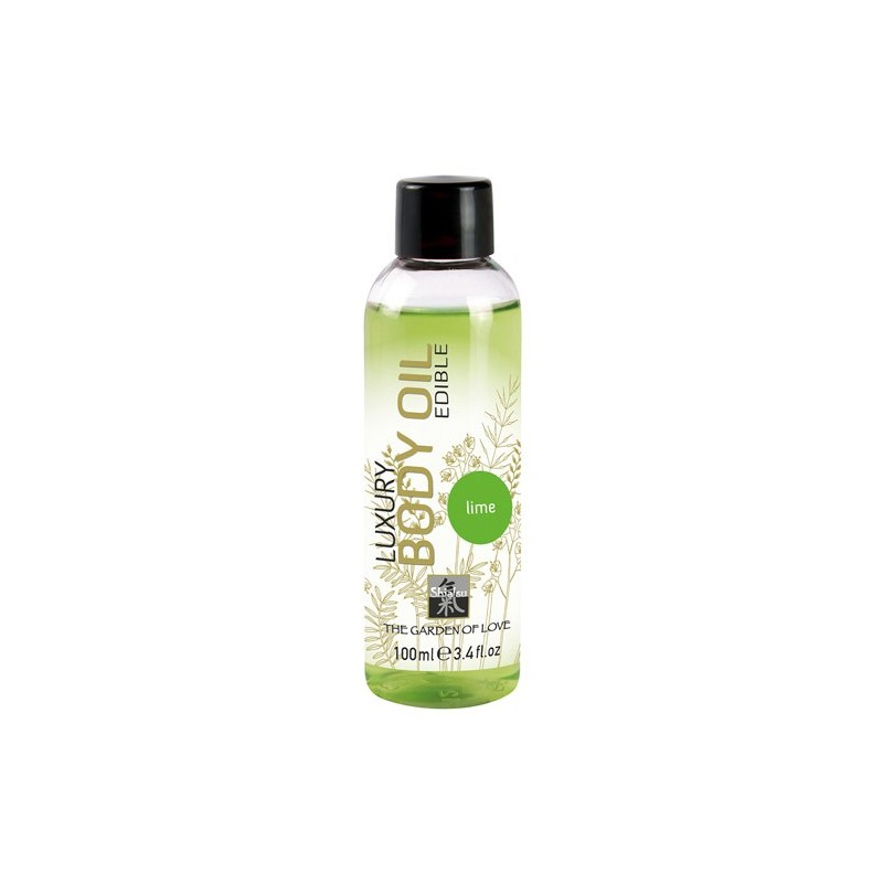 Shiatsu Luxury Edible Body Oil - Lime