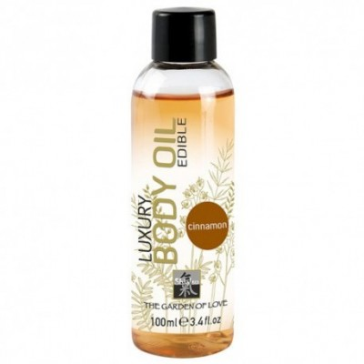 Shiatsu Luxury Edible Body Oil - Cinnamon