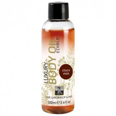 Shiatsu Luxury Edible Body Oil - Choc Mint