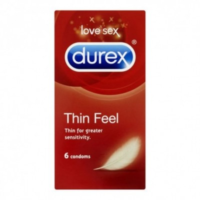 Durex Thin Feel 6 Pack Condoms